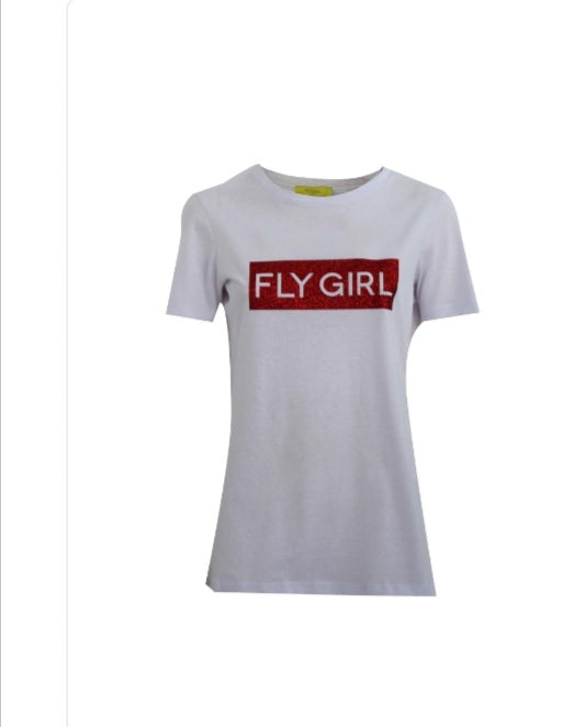 Fly Girl Italy Red T-Shirt