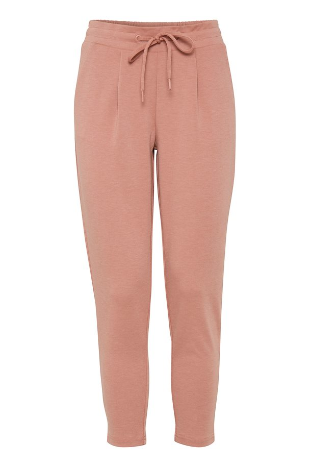 Ichi KATE Cropped Pants  - Cedar wood