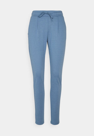 Ichi KATE Cropped Pants  - Coronet Blue