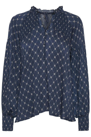 Culture Cusana Blouse, Blue Iris