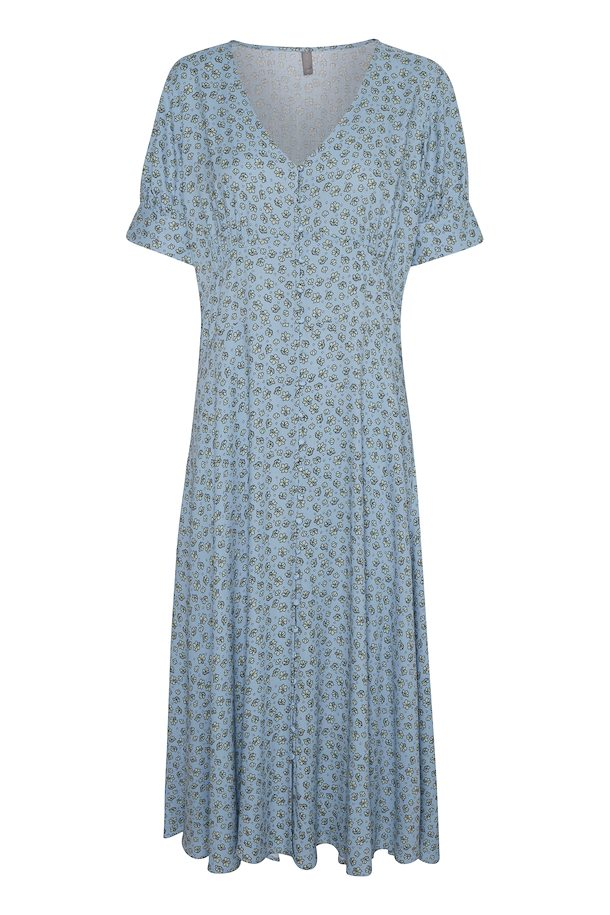 Culture Powder Blue Fitted Dress