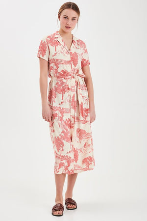 Ichi Tapoica Shirt Dress