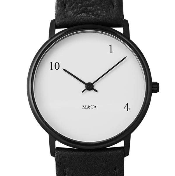 10-One-4 watch by Tibor Kalman - Monochrome