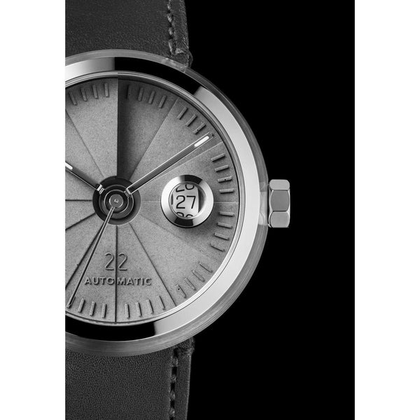 4D Concrete Signature steel / concrete automatic watch - Monochrome