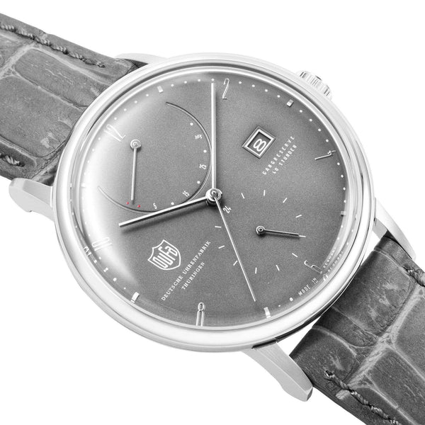 Albers grey automatic power reserve watch - Monochrome