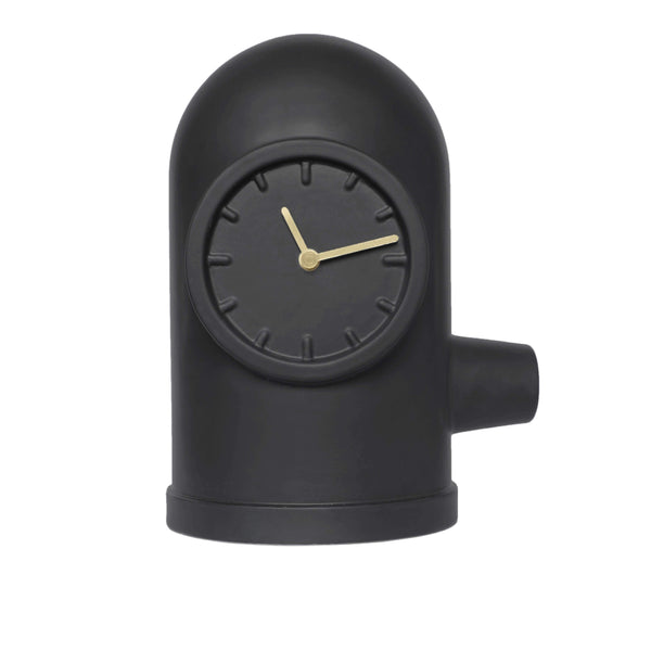 Base black clock - Monochrome