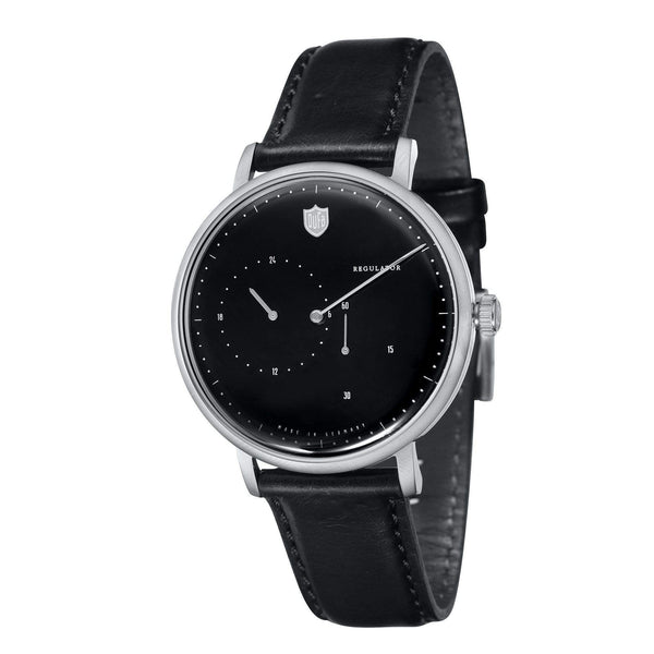 AALTO black automatic regulator watch - Monochrome