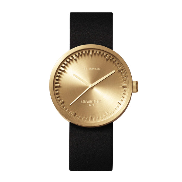 Tube D38 brass watch - Monochrome