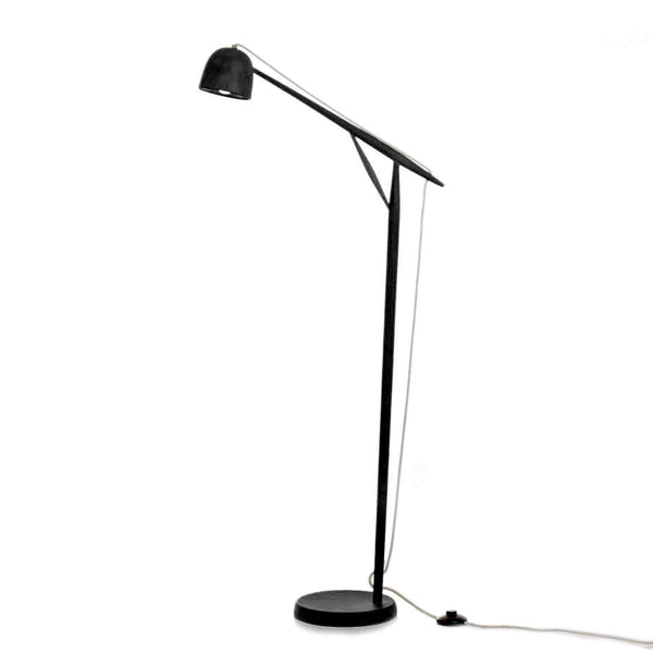 Crane floor lamp - Monochrome