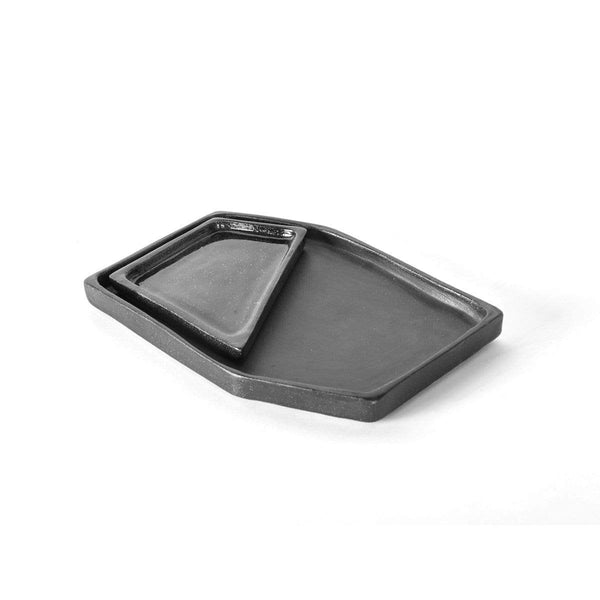 Geometry ceramic nesting trays - Monochrome