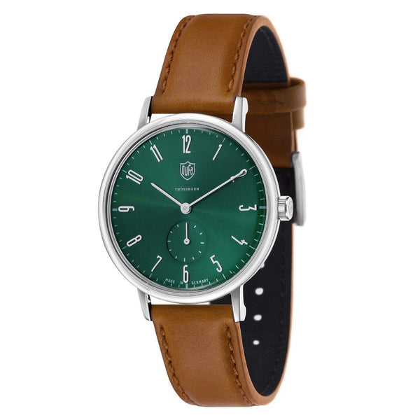 Gropius green / tan watch - Monochrome