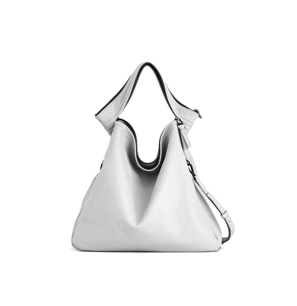 Rei light grey convertible shoulder bag - Monochrome
