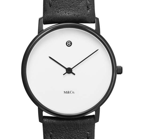 M&Co Date Watch - Monochrome