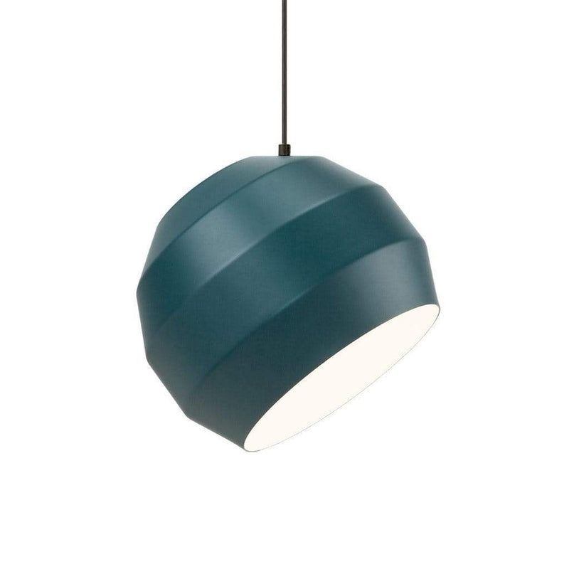 Pitch black pendant light - Monochrome