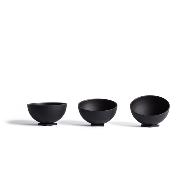 Phase bowls ( set of 3 ) - Monochrome
