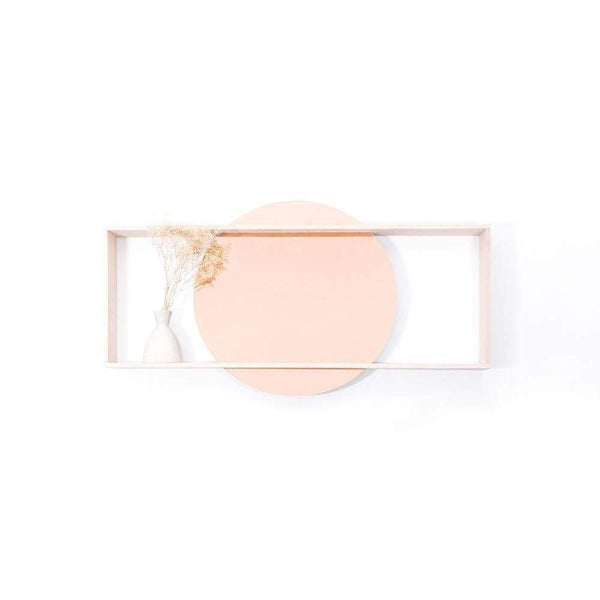 Day rose gold mirror - Monochrome