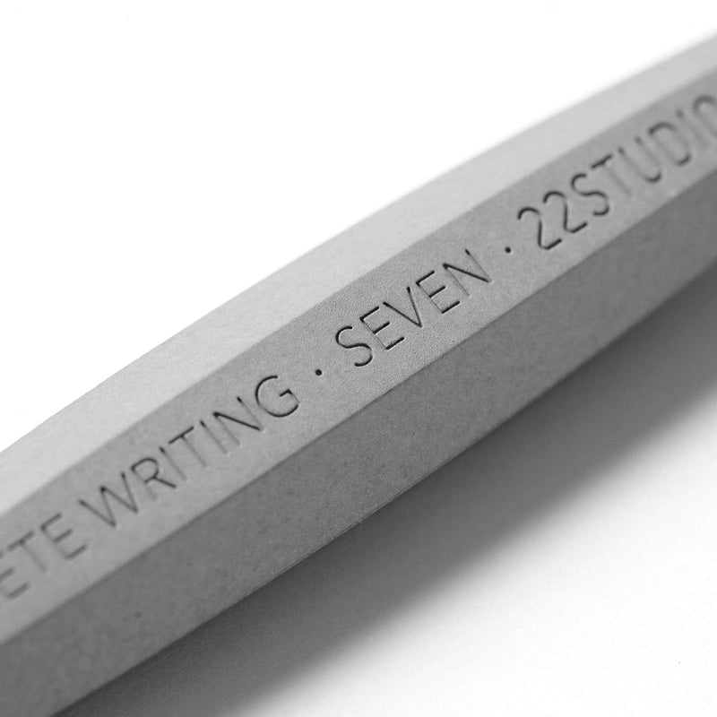 Seven | Concrete Mechanical Pencil - Monochrome