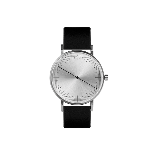 One silver watch - Monochrome
