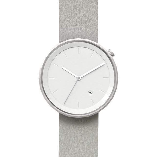 Polygon 01 silver / grey watch - Monochrome