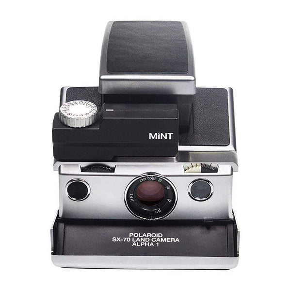 SLR670 limited edition enhanced vintage polaroid instant camera-silver - Monochrome