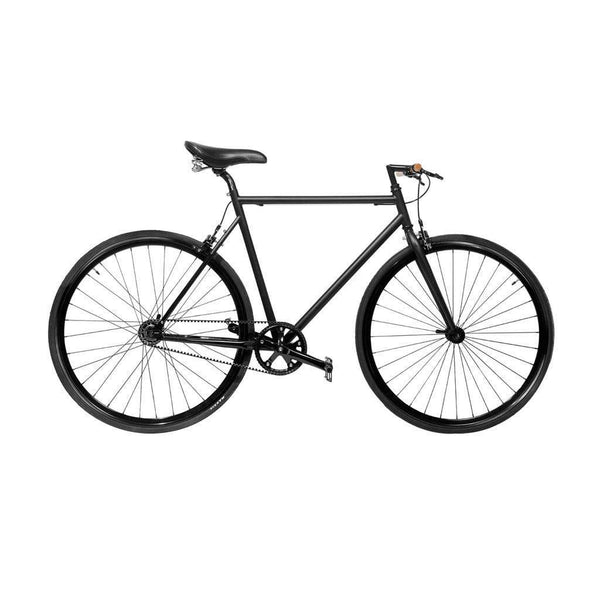 Stealth minimalist bicycle - Monochrome