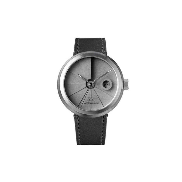 4D Concrete Minimal automatic watch - Monochrome