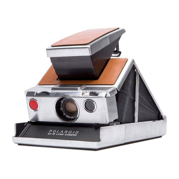SX-70 tan Polaroid (Restored Vintage) - Monochrome