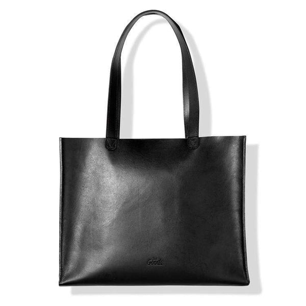 The Heir | leather tote - Monochrome