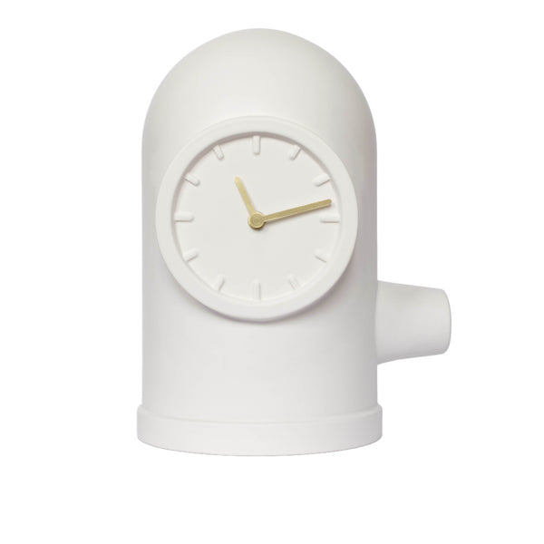 Base white clock - Monochrome