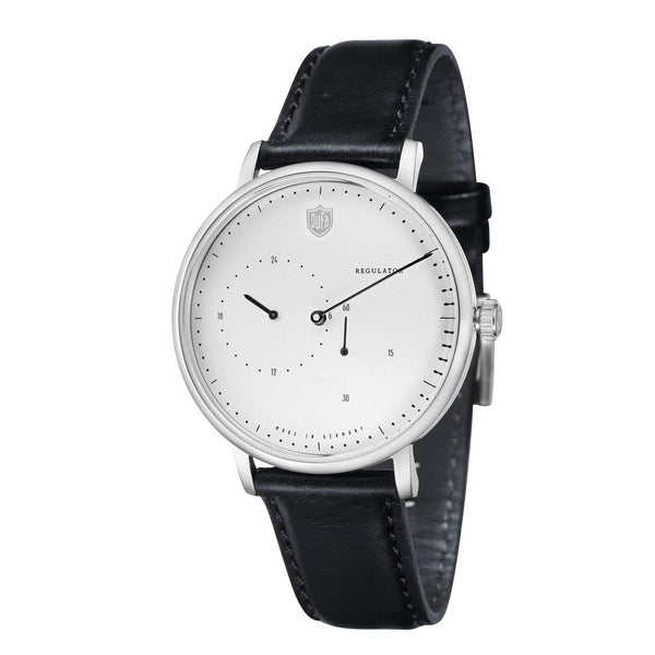 AALTO white automatic regulator watch - Monochrome