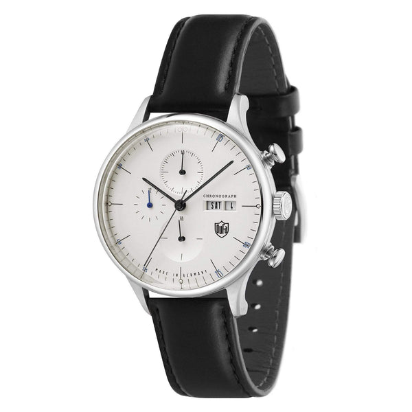 Van Der Rohe Barcelona white chronograph watch - Monochrome