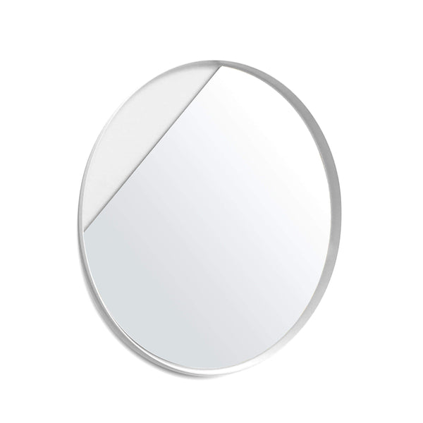 Eclipse white mirror - Monochrome
