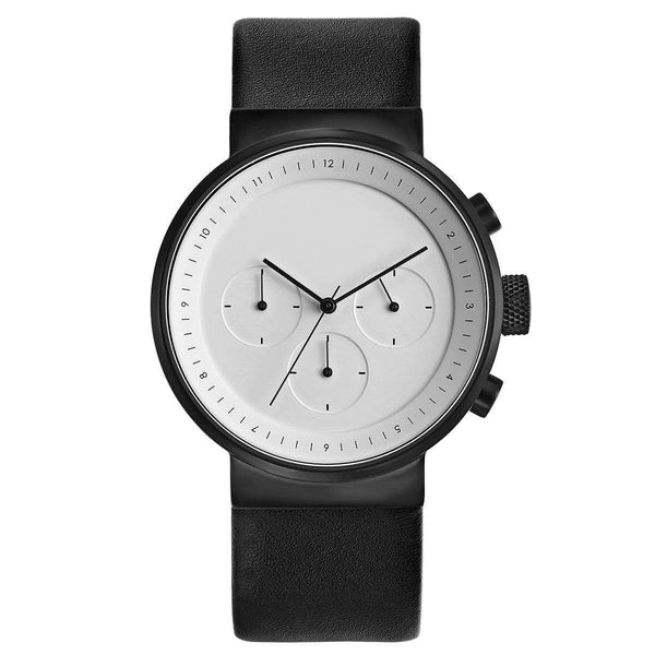 Kiura chronograph watch - Monochrome