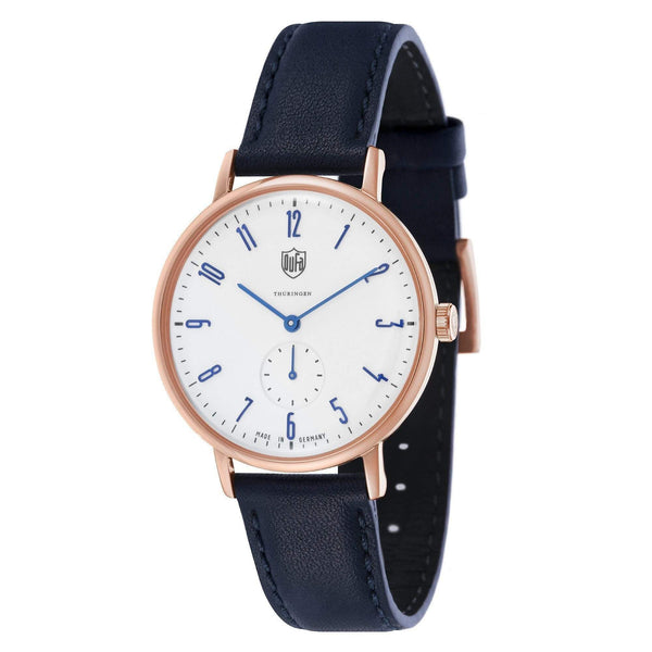 Gropius white / rose gold watch - Monochrome