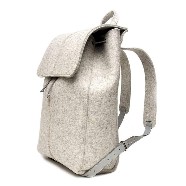 Wool backpack - Monochrome
