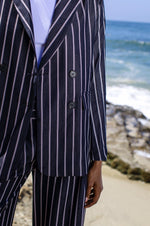 Navy Stripped Blazer