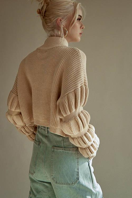 Christina Cropped Sweater