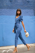 Fierce Denim Jumpsuit