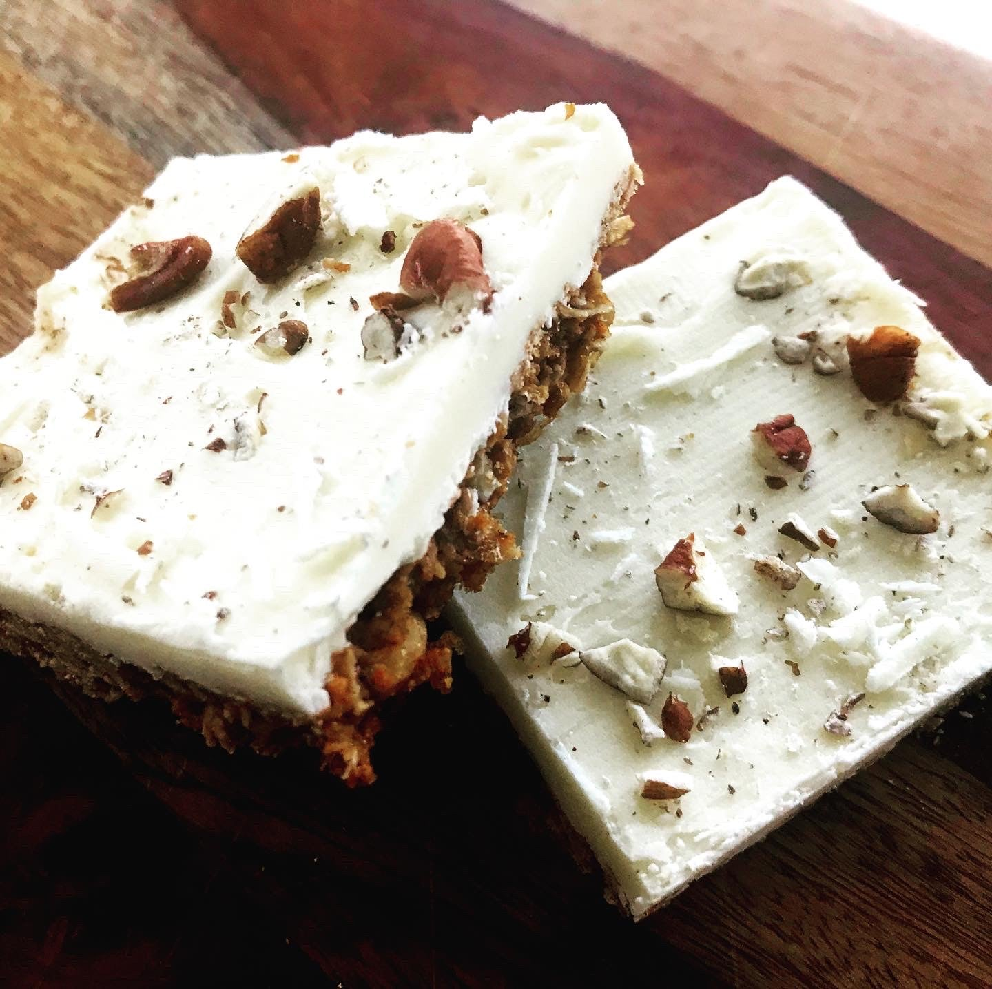 White Chocolate Cinnamon Pecan Bark