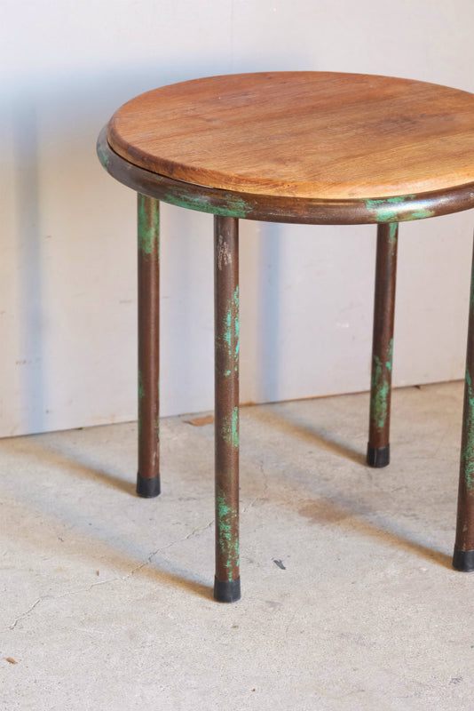 Wood×Iron Side Table
