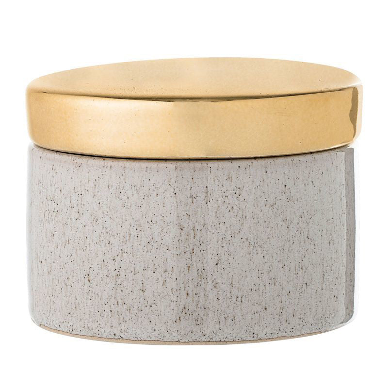 Speckle Jar w/Lid