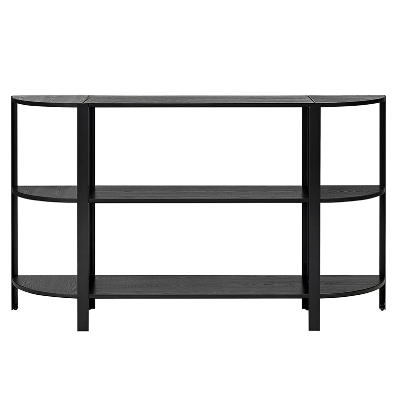 OMNI shelving system, low single Black