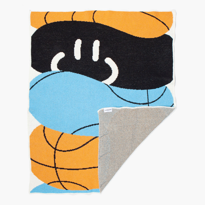 BALLER MINI BLANKET (Art by David Bruce - Leige, Belgium)