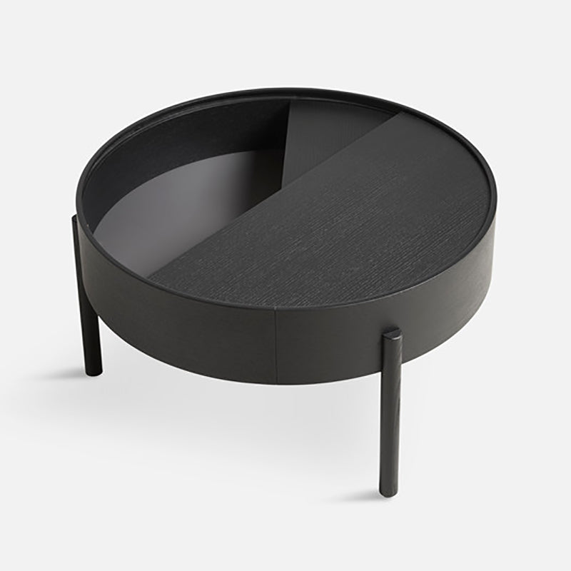 Arc coffee table Black