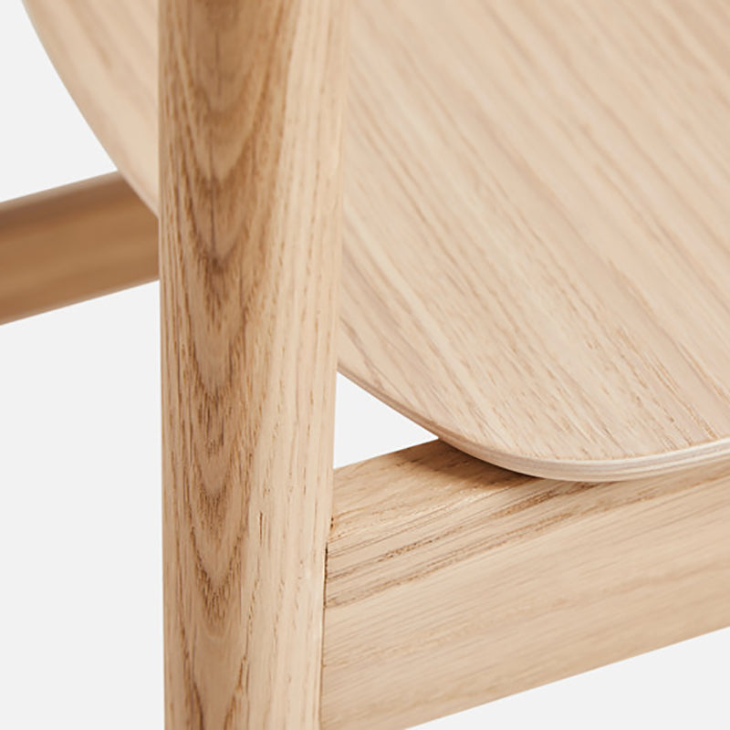 【先行予約販売】Pause dining chair 2.0 White pigmented oak