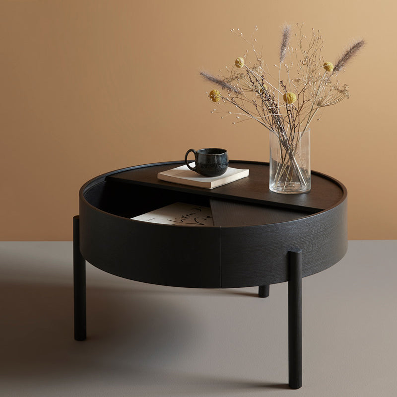 【先行予約販売】Arc coffee table Black