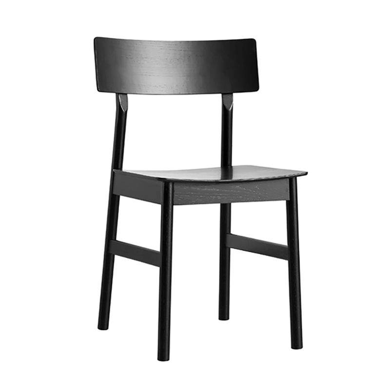 【先行予約販売】Pause dining chair 2.0 Black painted ash