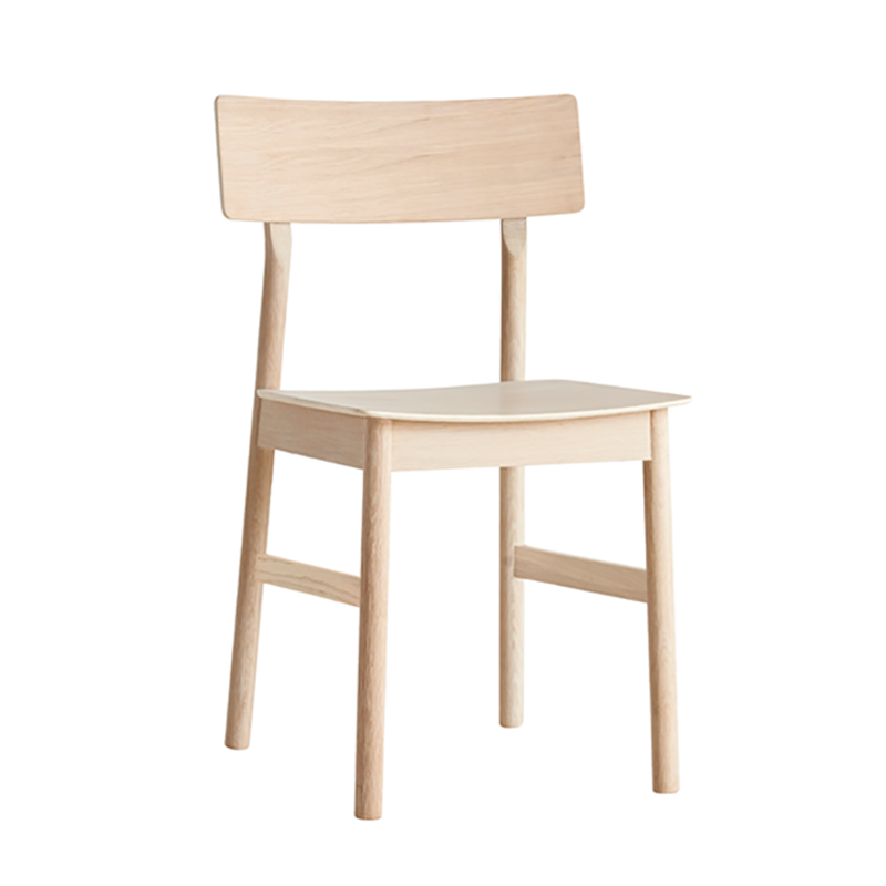 Pause dining chair 2.0 White pigmented oak