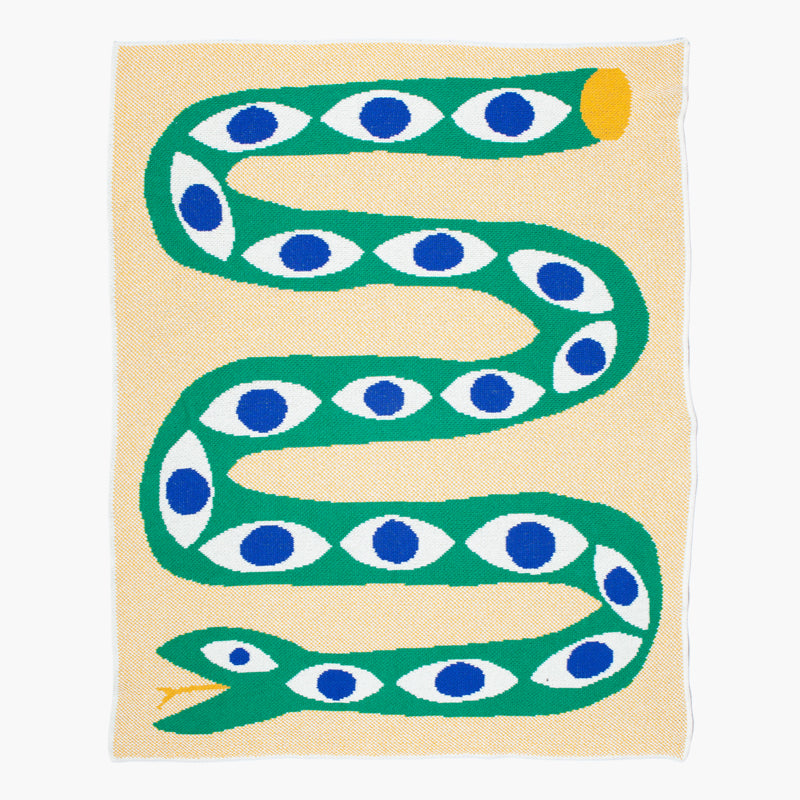 SNAKE EYES MINI BLANKET(Art by Matthew Arnold - Sydney, Australia)