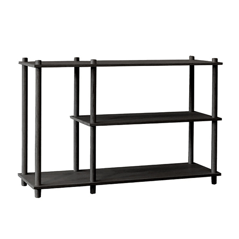 Elevate shelving system 3 Black